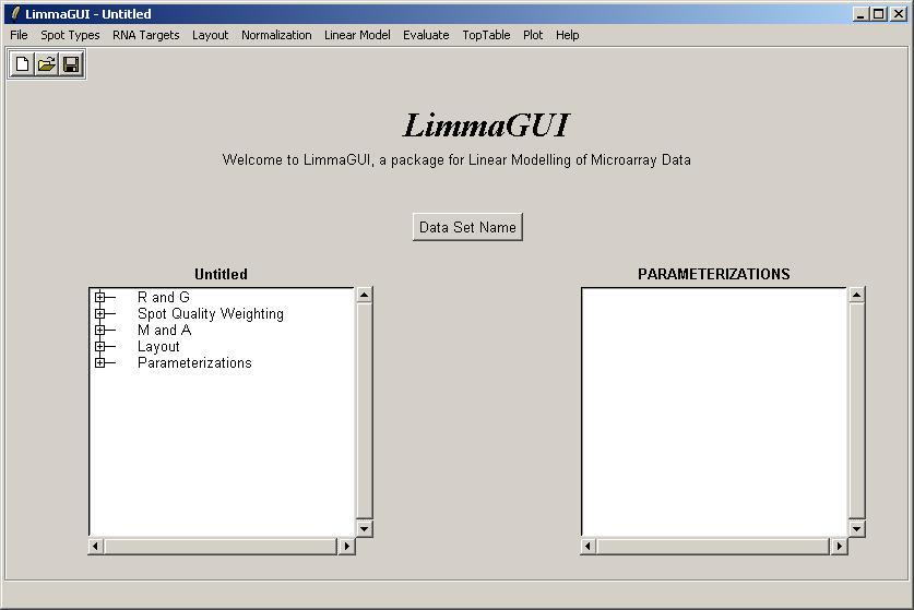 limmaGUI Worked Example : Swirl Zebrafish Data Set
